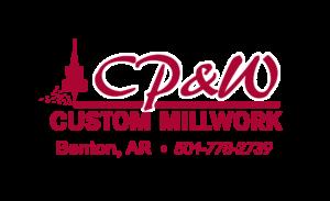 CP&W Custom Millwork Benton AR Logo